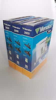 Menalux 2000 Triple Pack of 5 Vacuum Cleaner Dustbags and 1 Micro Filter (15+3)