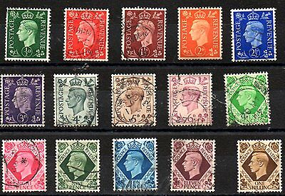 Stamps From Great Britain 1937.