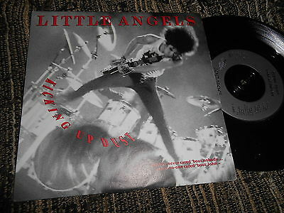 """LITTLE ANGELS Kicking up dust/ Kicking up dust (Live) 7"""" 1989 Polydor"""