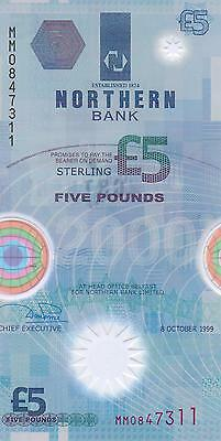 Northern Bank £5 Polymer Banknote UNCIRCULATED