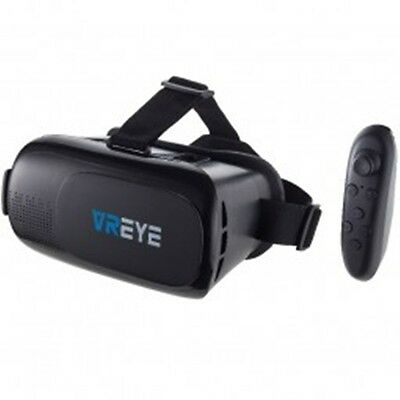 Bitmore VR EYE Virtual Reality Headset with Bluetooth Controller  NEW