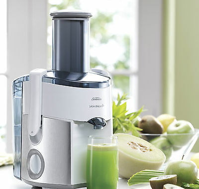 Sunbeam Electric Juicer Cold Fruit Processor Extractor Automatic Press Squeeze
