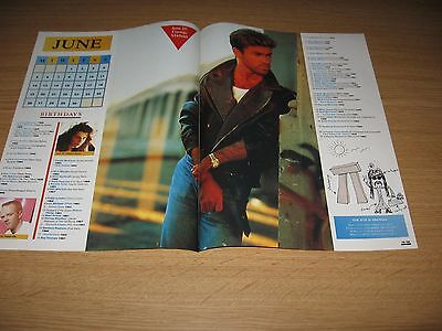 GEORGE MICHAEL - Magazine Clipping from Year 1989