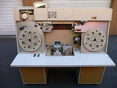RTI RETECTRON AUTOMATIC vintage 16MM FILM LAB INSPECTION VIEWER EDITOR CLEANER