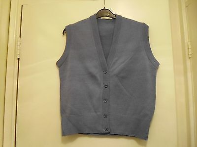 BNWT Vintage Country Casuals sleeveless knitted cardigan / waistcoat , size 12