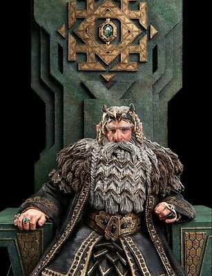 KING THROR ON THRONE Limited edition of 1000 WETA CAVE
