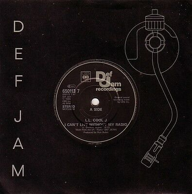 LL COOL J I'M Bad & Get Down & Dangerous 3track EP + free record.