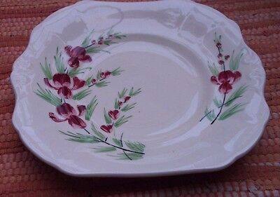 W.k.m Hand Painted Sandwich Plate