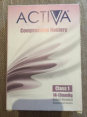Activa Compression Hosiery Class 1 14-17mmHG Below Knee Honey Colour Extra Large