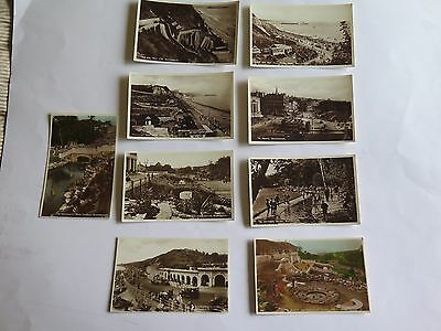 Collection of Nine Vintage Postcards of Bournemouth & Boscombe.
