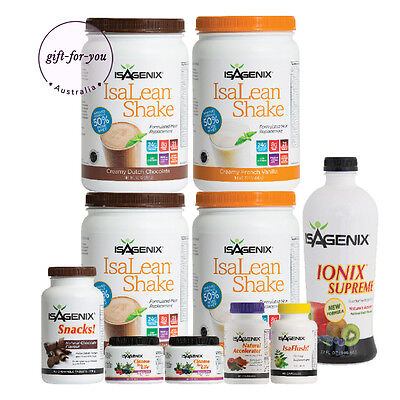 FREE POST Isagenix 30 Day Weight Loss & Nutritional Cleansing PAK - BEST SELLER
