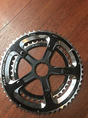 FSA chain rings (39/53).  BCD 130mm.  NEW cond. For cannondale hollowgram cranks