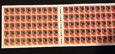 Full Sheet 100 Australian MNH 1980 Salvation Army - 22c Stamps - Clean & Tidy