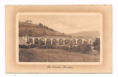 Nice Printed Postcard Of Knucklas Viaduct Near Knighton Radnorshire