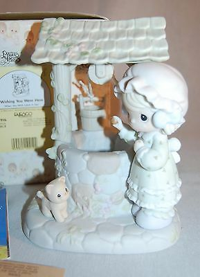 """Precious Moments 526916 """"wishing You Were Here"""" 1992 Clef 1St Mark Mib W/tags #"""