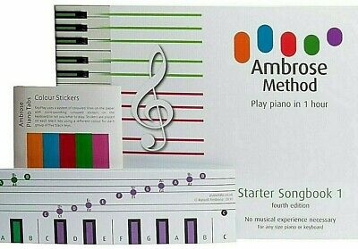 Learn to Play Piano Keyboard Beginners Adults Kids Piano Music Book How to Play