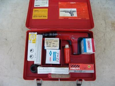 Hilti Dx 350 Powder Actuated Nail Stud Gun Works Fine
