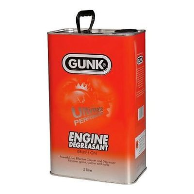 Gunk 5L Engine Brush On Degreaser for Engine Car Parts & Industrial 5 litre