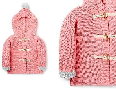 NEW Seed Heritage Hooded Cardigan Size 0000 RRP59.95