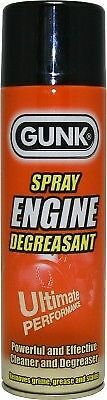 GUNK Heavy Duty Car Engine Degreaser Cleaner Degreasant 500ml Aerosol Spray Can