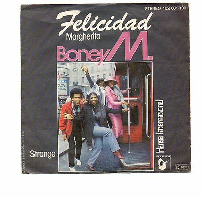 Single: Boney M. - Felicidad