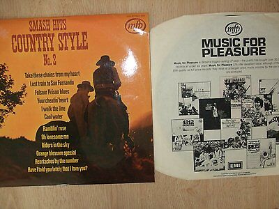 Country Style - Smash Hits - Vinyl LP Record
