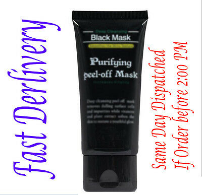 Deep Cleansing Black MASK Purifying  Mask Clean Remove Blackhead Facial