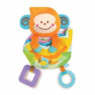 B Kids Take Along Teether Activity Book