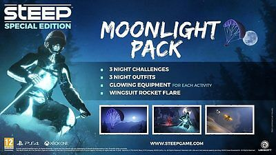 Steep Dlc Moonlight Pack Luz De Luna Ps4 Xbox One Dlc