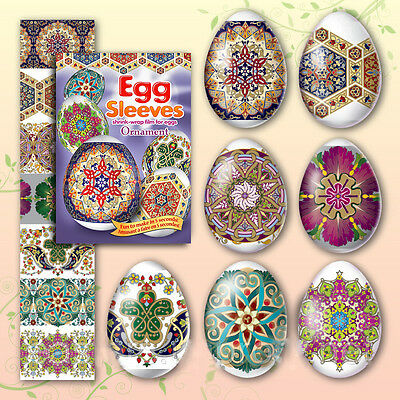 #13 Ornament Easter Egg Sleeves Pysanka Pysanky Nowruz Wraps Easter Decoration