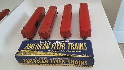 American Flyer 718 Mail Cars and 650 Passenger car.