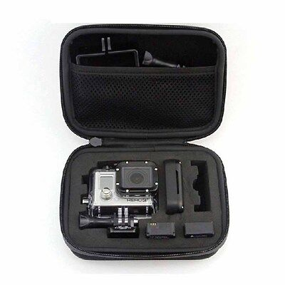 Small Travel Carry Case Bag for Action Cam Camera GoPro Hero 1 2 3 3 4 SJ4000