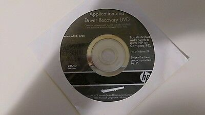 DVD Aplication and Driver Recovery DVD para windows Xp