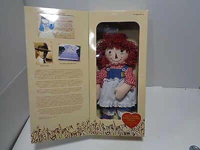 Raggedy Ann 12th Annual Raggedy And And Andy Arcola Festival Ltd Edition Doll