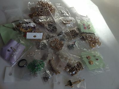 Jewelry Lot Destash Junk Drawer Resell Assemblage Cast Offs
