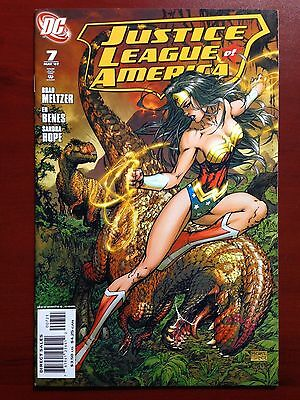 Justice League Of America #7~ Turner Variant ~ Nm+ (9.6) Or Better~ Wonder Woman