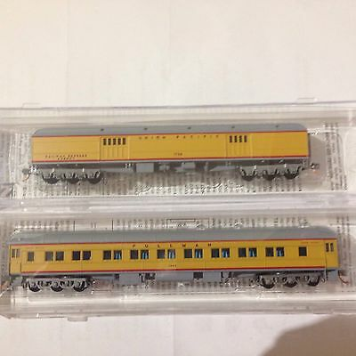 N SCALE Micro Trains Coaches One Pullman Other A Full Baggage MINT NEW