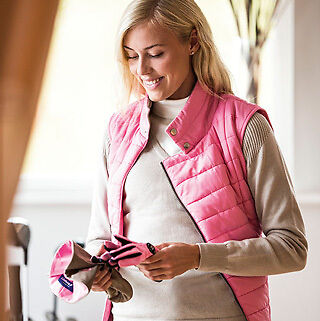Daily Sports Pink Ladies Gilet, Golf Body Warmer, Small