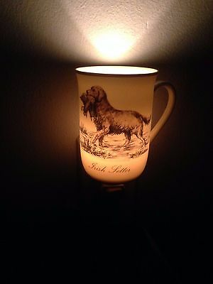 Hunting Dog Mug Night Light - Irish Setter