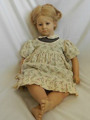 """Annette Himstedt """"The Barefoot Series""""  Ellen Doll # 3418 with Original Box"""