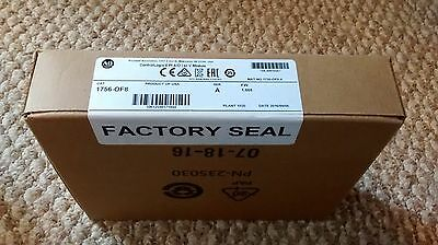 2016 Factory Sealed Allen-Bradley 1756-OF8 ControlLogix 8 pt Analog Output
