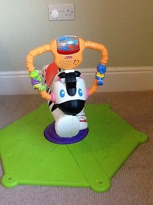 Fisher Price Bouncing Zebra Interactive Toy