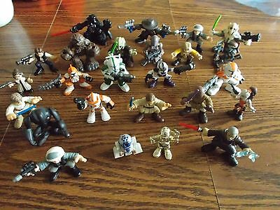 Star Wars Galactic Heroes Lot:  24 figures - Excellent Condition!!