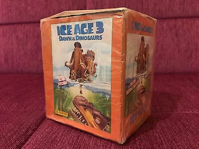 Panini Ice Age 3 Dawn of the Dinosaurs 50 Packs Stickers New OVP