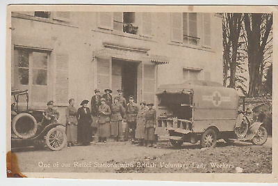 France's Day, French Red Cross, Relief Station. 1917.