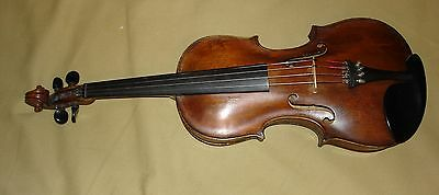 Antique German Style 4/4 violin With case