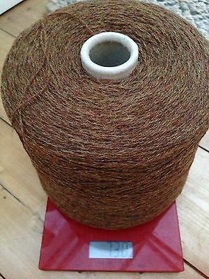Knitting machine yarn, 2 ply, Knoll , Supersoft 100% pure wool in (cinnamon)