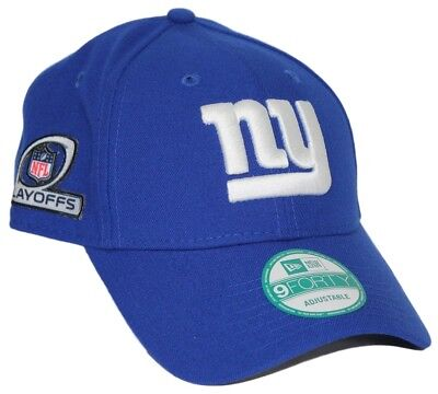 6691c57d2 New York Giants New Era 9Forty NFL The League Playoff Patch Adjustable Hat