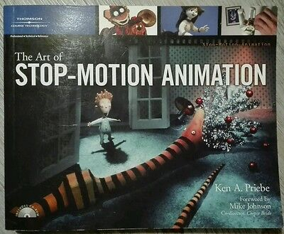 The Art of Stop-Motion Animation | Ken A. Priebe | Buch + CD gebraucht