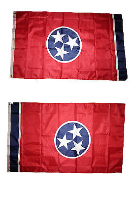 3x5 State of Tennessee 2 Faced Double Sided 2-ply Polyester Flag